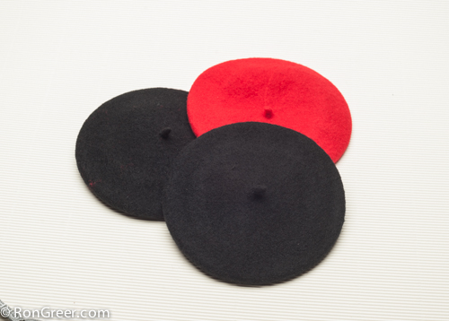 fe3d6ae216faf Berets from the Basque region of Spain. Imported by Ron Greer ...
